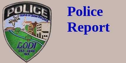 Lodi, WI Police Report