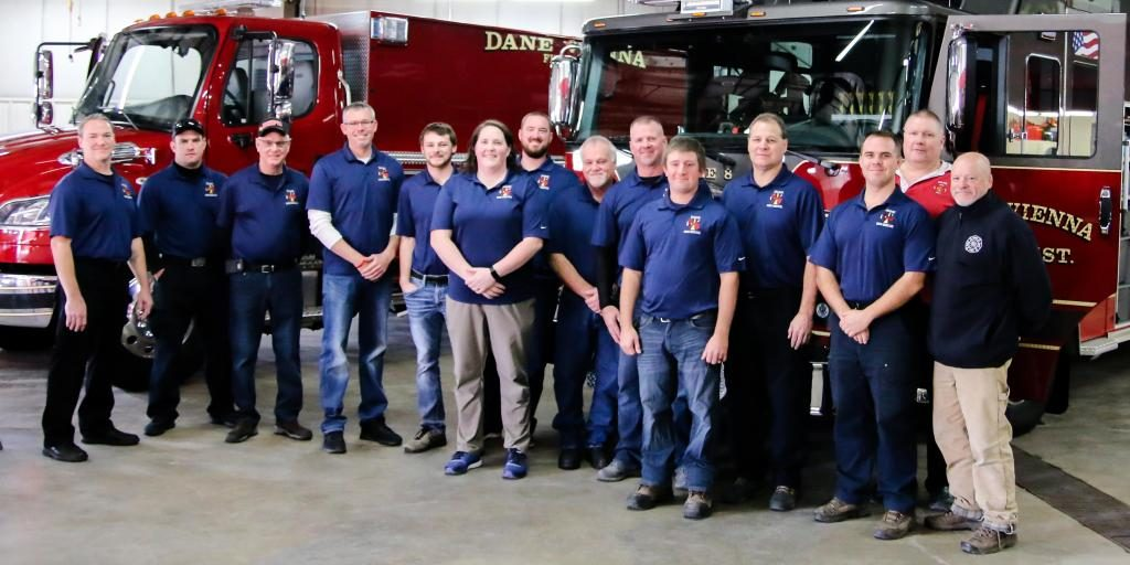 Fire Crew for the Dane Vienna (Wisconsin) Fire Department