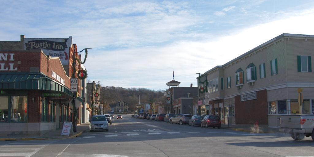 Main Street in Lodi, Wisconsin