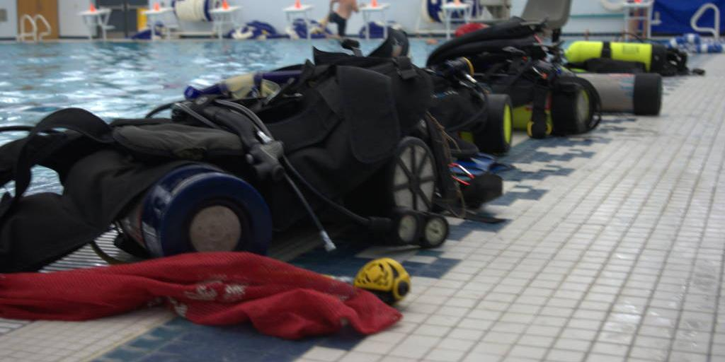 Dive tanks for the team