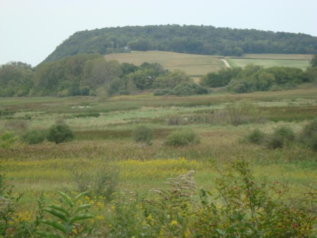 Drumlin as seen from the Lodi Marsh Segment