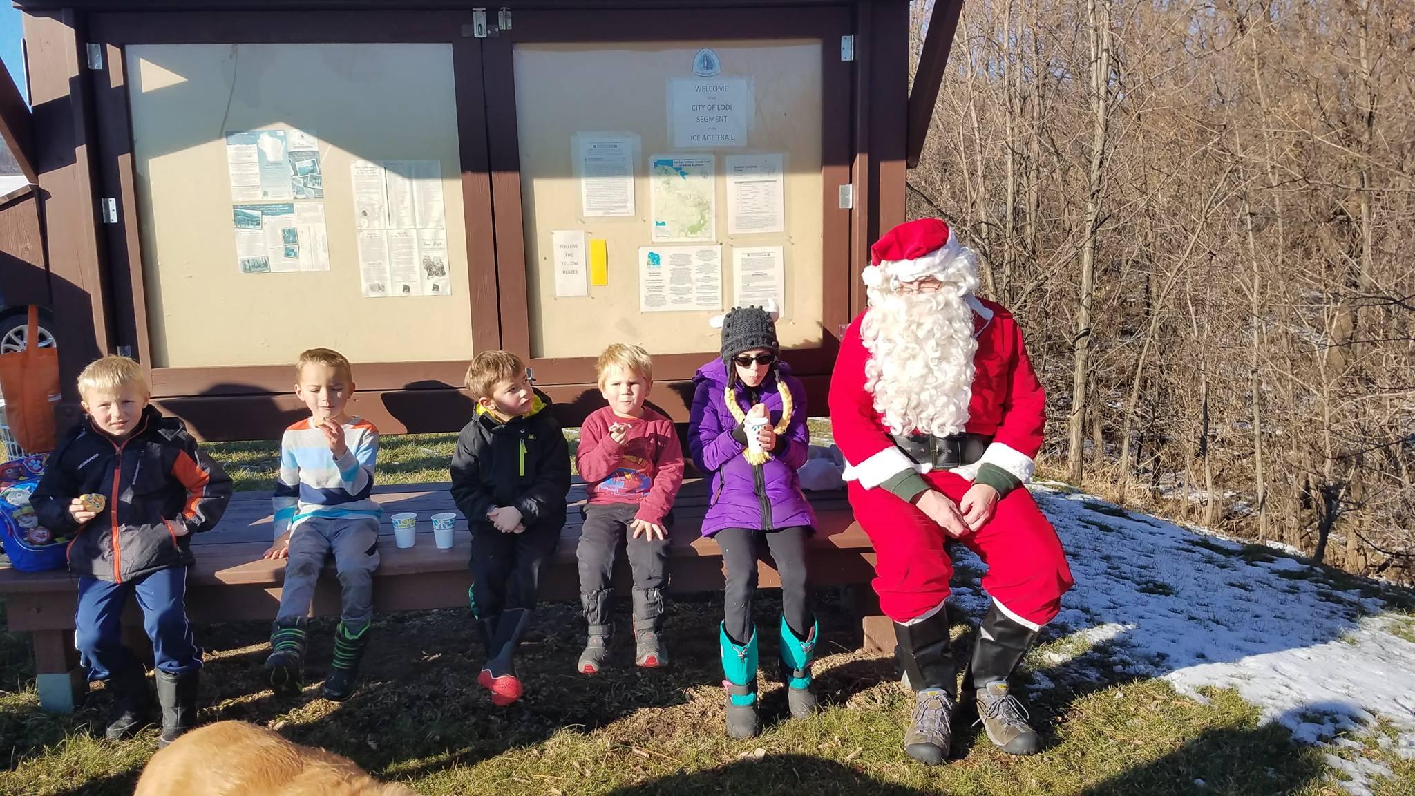 Tyke Hike with Santa