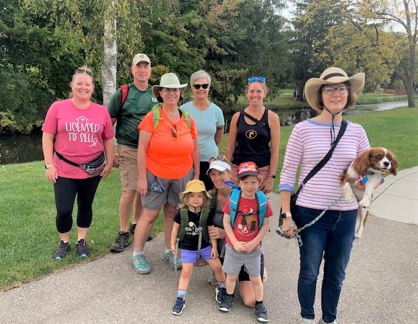 Wander Lodi Walk participants